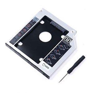 Adaptador Bahia Disco Duro 12,7mm para unidad óptica SSD HDD