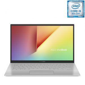 Asus Vivobook S420FA-EK139T 14″ i5 8265U, 8GB, SSD 512GB, Full HD, Intel UHD 620. A estrenar