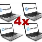Lote 4x HP EliteBook 850 G2 15,6″ i5 5300U, 8GB, SSD 128GB, A+