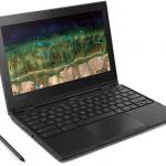 Lenovo 500e ChromeBook Táctil 11,6″ Celeron N3450, 4GB, SSD 24GB, A