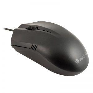 Ratón óptico NGS Easy Betta negro