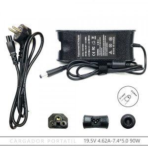 Adaptador Cargador Dell Latitude 90W 19.4V 4,62A 7.4x5.0mm
